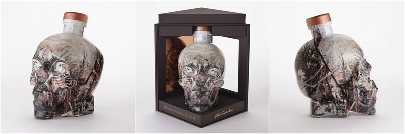 Crystal Head Vodka's First Artist Series Bottle