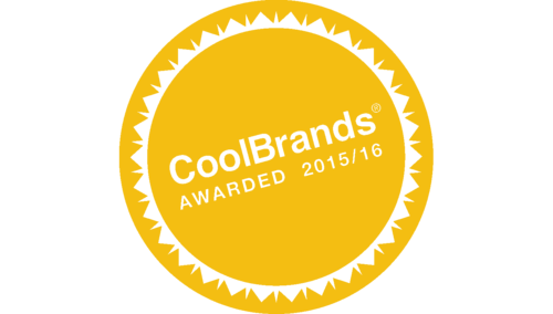 Coolbrand award stamp