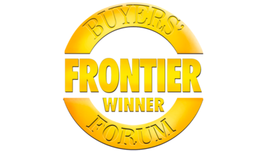 V1 frontier bforum winner logo